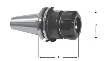 Pens Başlığı DIN 6499 Tip ER