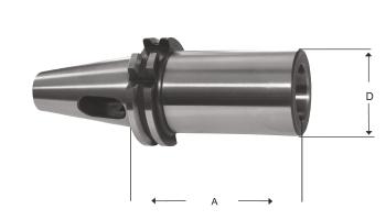 Mors Adaptörü DIN 6383 Kamalı Tip Mors Konikler için