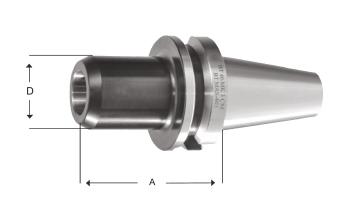 Çektirmeli Mors Adaptörü DIN 6364 Çektirmeli Tip Mors Korikleri için